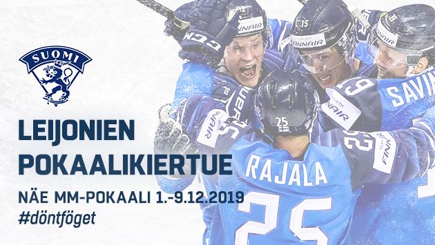 Leijonien Pokaalikiertue – Näe MM-pokaali 1.-9.12.